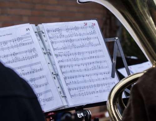 Notenblatt Music Sheet Music Clef Staves Musician