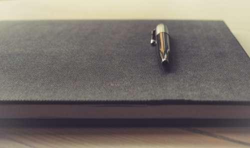 Notepad Pen Business Notebook Office Paper Write