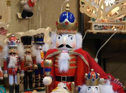 Nutcracker Christmas Decoration Craft