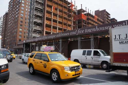 Nyc Taxi Urban Construction