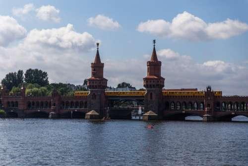 Oberbaumbrücke Berlin Spree Architecture Capital