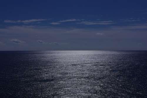Ocean Water Blue Sky Nature Vacation Sea