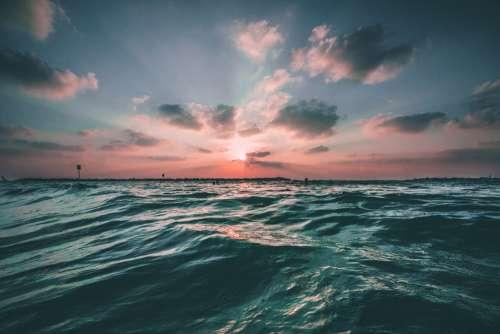 Ocean Waves Water Sea Blue Nature Ocean Wave Sky