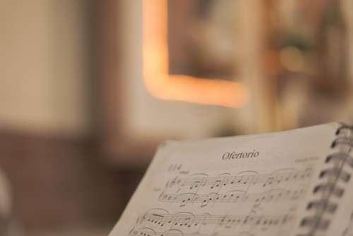 Offertory Music Sheet Music Organ Melody Church