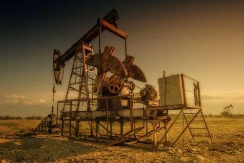 Oil Oil Rig Industry Oil Industry Pump Oil Pump