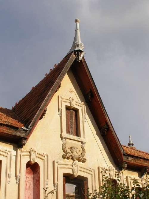 Old House Vintage Architecture Building Design