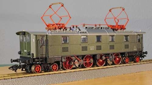Old Elektrolok Railway E52 E 52 Deutsche Bundesbahn