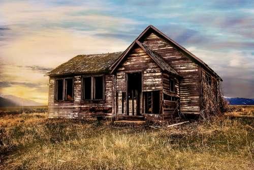 Old Farmhouse Decay Farmhouse Old Lapsed Building