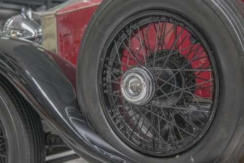 Oldtimer Wheel Auto Mature Automotive Rim