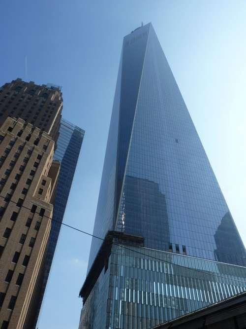 One World Trade Center Building Usa New York City