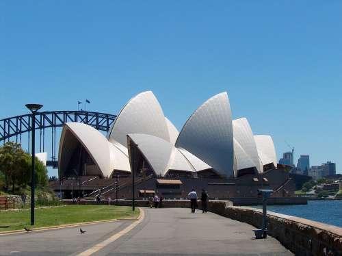 Operahouse Sydney Building