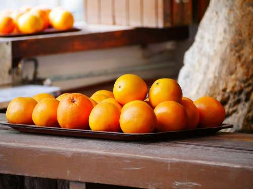 Oranges Mallorca Fresh Nature Mediterranean Fruit