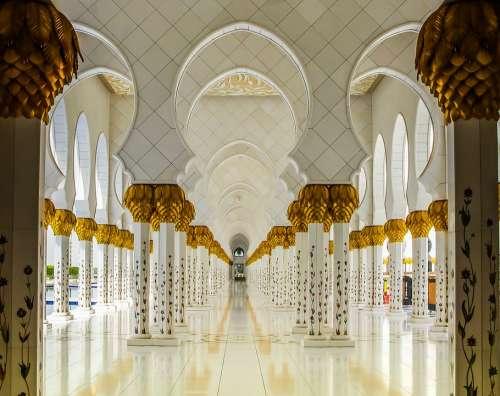 Orient Abu Dhabi Mosque Islam Emirates