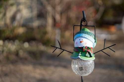 Ornament Snowman Winter Cute
