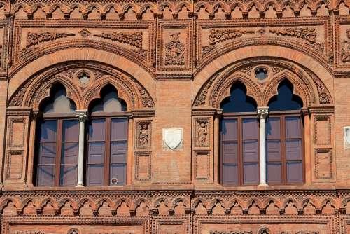 Ornament Window Facade Historic Building Brick