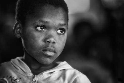 Orphan Africa African Child Portrait
