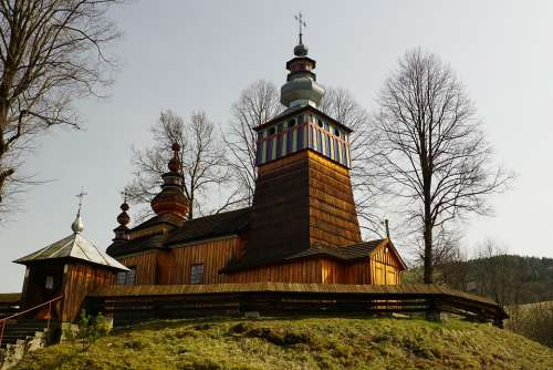 Orthodox Church Beskid Niski Poland