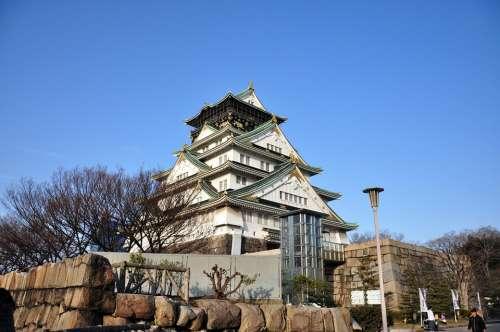Osaka Castle Japan Osaka Construction