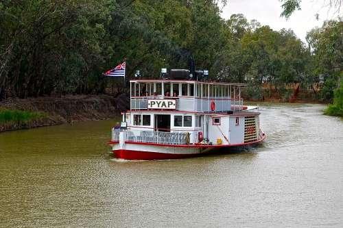 Paddle Steamer Paddle Boat River Boat Steamer