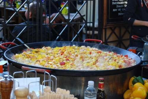 Paella London Street Food Food Street City Table