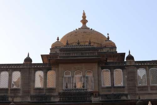 Palace Mandvi India Kutch Culture Travel Hindu