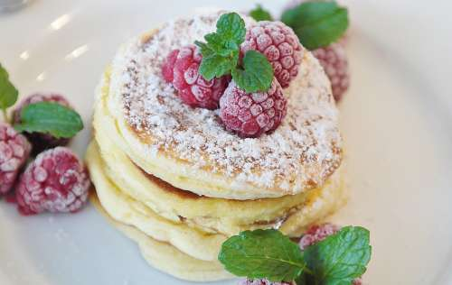 Pancake Schaumomelette Omelette Sugar Sweet