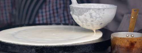 Pancake Dough Power Supply Food Dessert Ladle