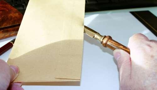 Paper Knife Envelope Letter Opener Desk Cut