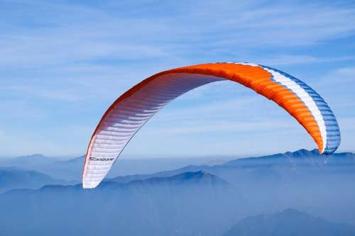 Paragliding Sky Mountains Sport Leisure Active
