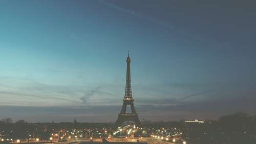 Paris France Eiffel Tower City Travel French
