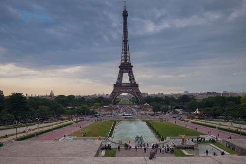 Paris Tour Eiffel France Attraction Torre Tourism