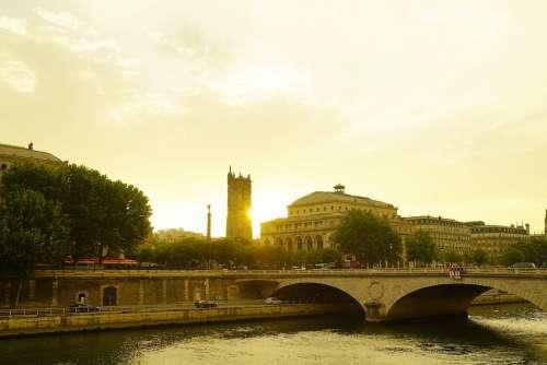 Paris France Travel Europ Tourism Europe City
