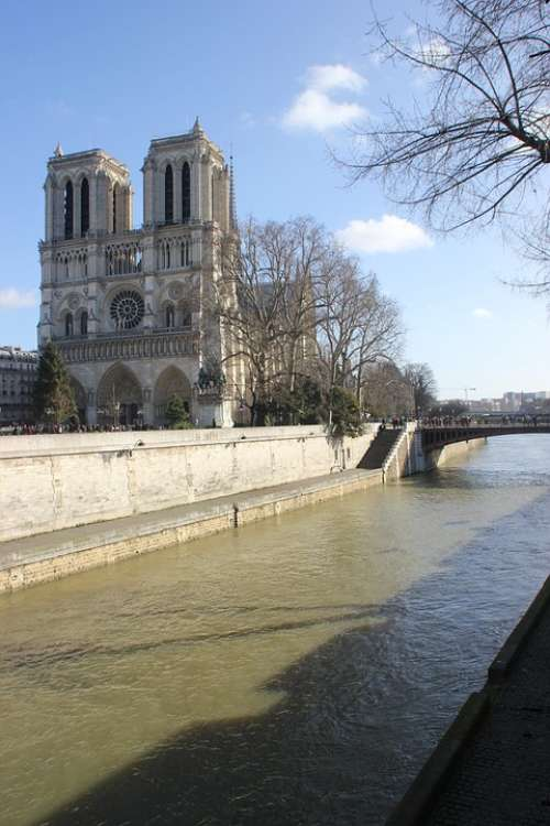 Paris Church Notre-Dame