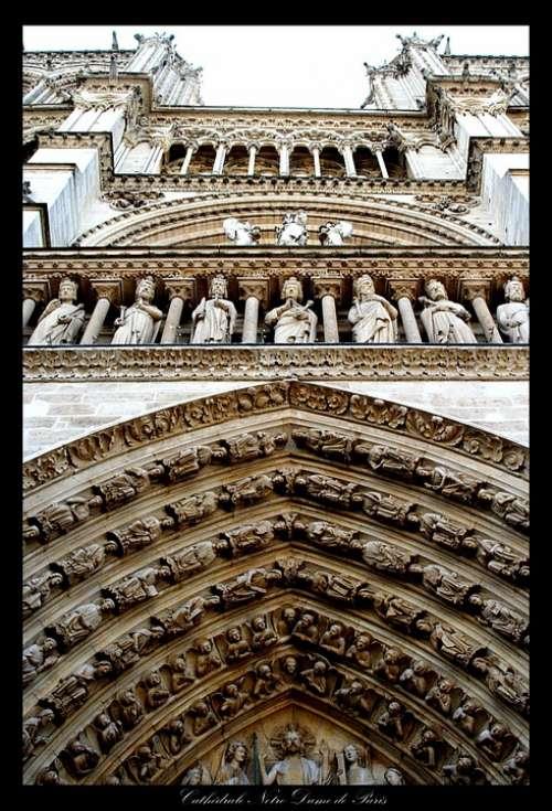 Paris Notre Dame Church