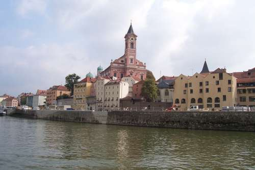 Passau City Water Germany Boating