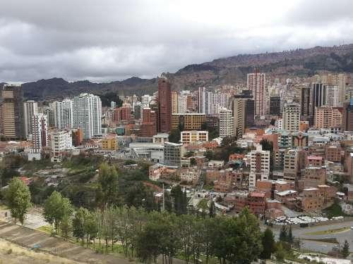 Peace Bolivia City Buildings