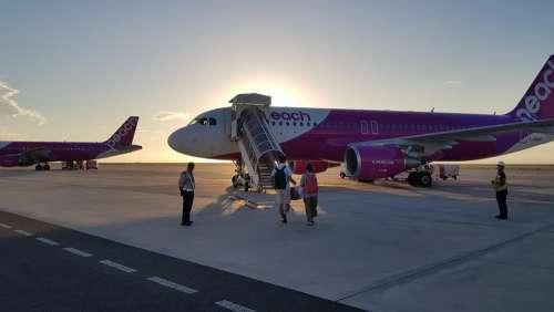 Peach Airline Peach Airline Airport Airplane Plane