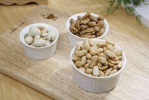 Peanut Snacks Roasted Bowls Selection Nuts