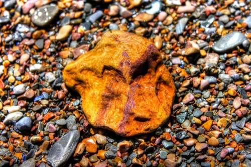 Pebbles Color Stones Texture Nature Colourful