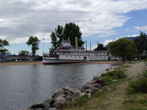 Penticton British Columbia Ship