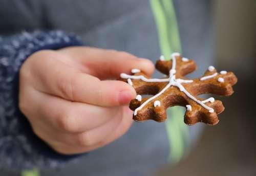 Perníček Holidays Sweets Pastry Christmas Painted