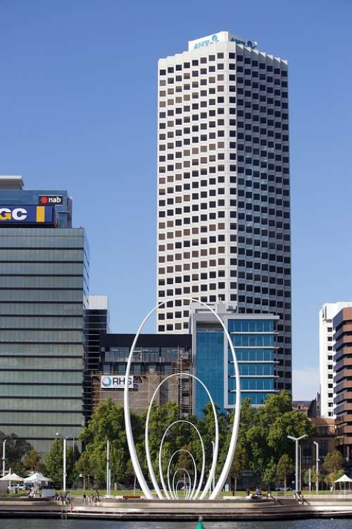 Perth Australia City Architecture