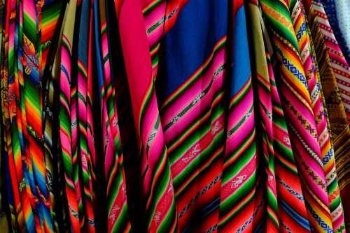 Peru Bolivia Textile Colors