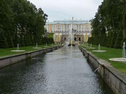 Peterhof Petersburg Summer Palace Russia