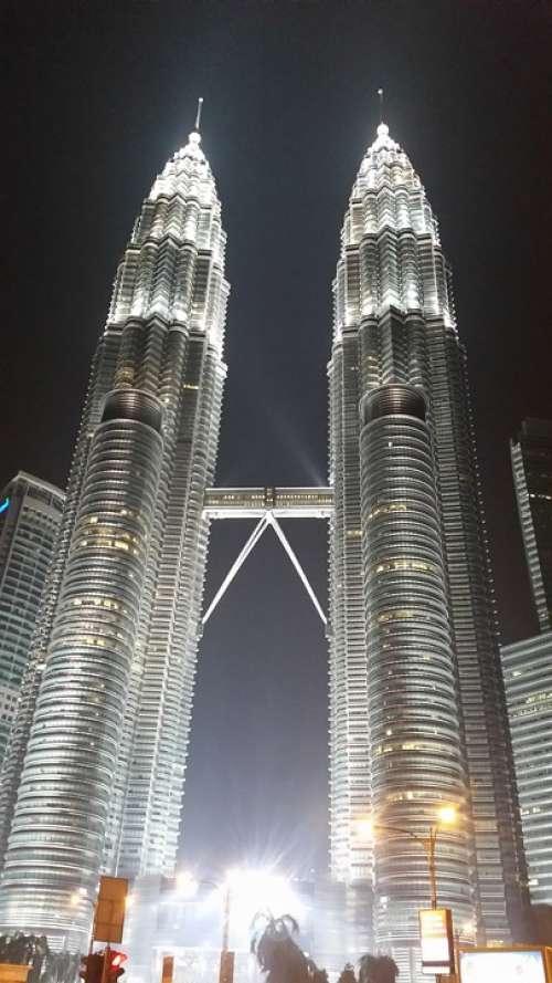 Petronas Twin Towers Kuala Lumpur Malaysia Klcc