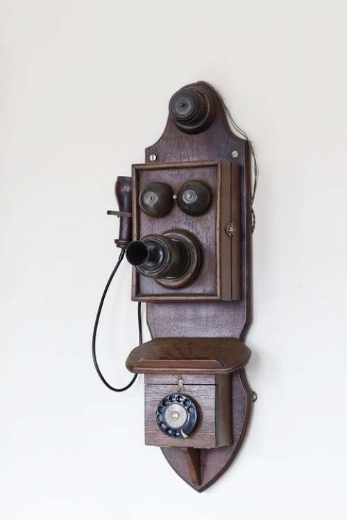 Phone Old Communication Technology Vintage