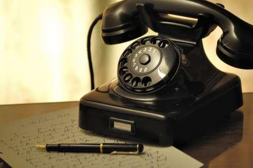 Phone Dial Old Arrangement Nostalgic Nostalgia