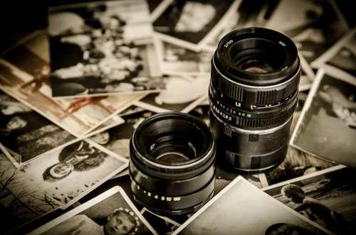 Photo Lens Lenses Photographer Old Photos Memory