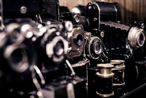 Photography Vintage Old Cameras Photographer Retro