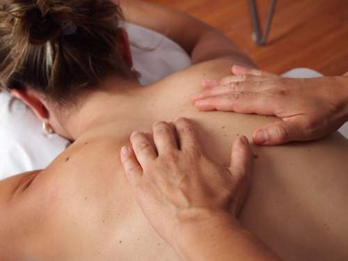 Physiotherapy Massage Back Relax Hands Skin